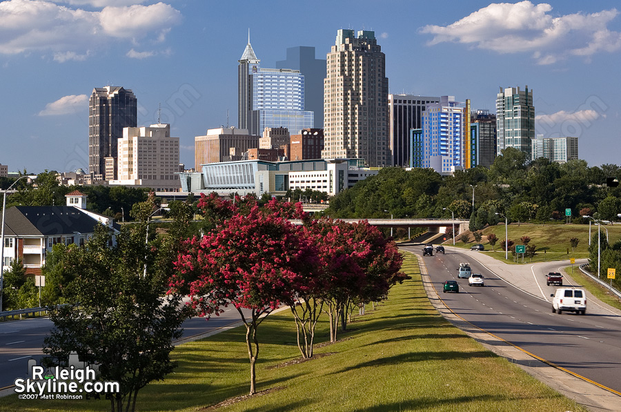 Future Raleigh Skyline rendering crop - 2007