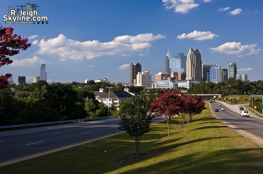 Future Raleigh Skyline rendering (2007)