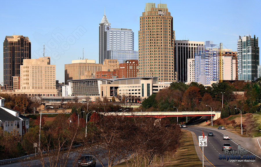 Future Raleigh Skyline December 12 2007