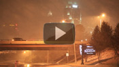 Raleigh Snow (Video) &#8211; February 19, 2012
