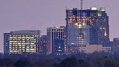 Raleigh Skyline for March 2008
