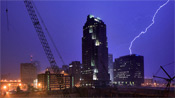 Downtown Raleigh Lightning – April 2006