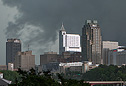 Wall Cloud over Downtown Raleigh