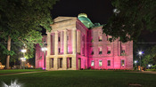 NC Capitol goes pink