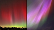 Aurora Borealis from Raleigh, NC – November 8, 2004