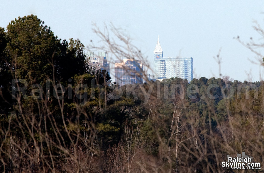 Mystery Raleigh Skyline Angle