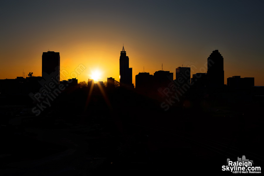 The Dawn of Spring in Raleigh - RaleighSkyline.com ...