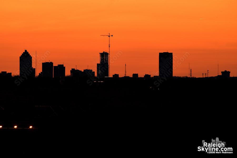 Raleigh Sunset