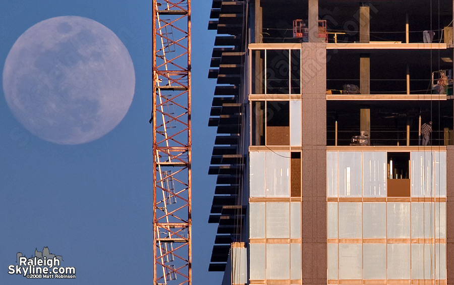 Raleigh Moonrise