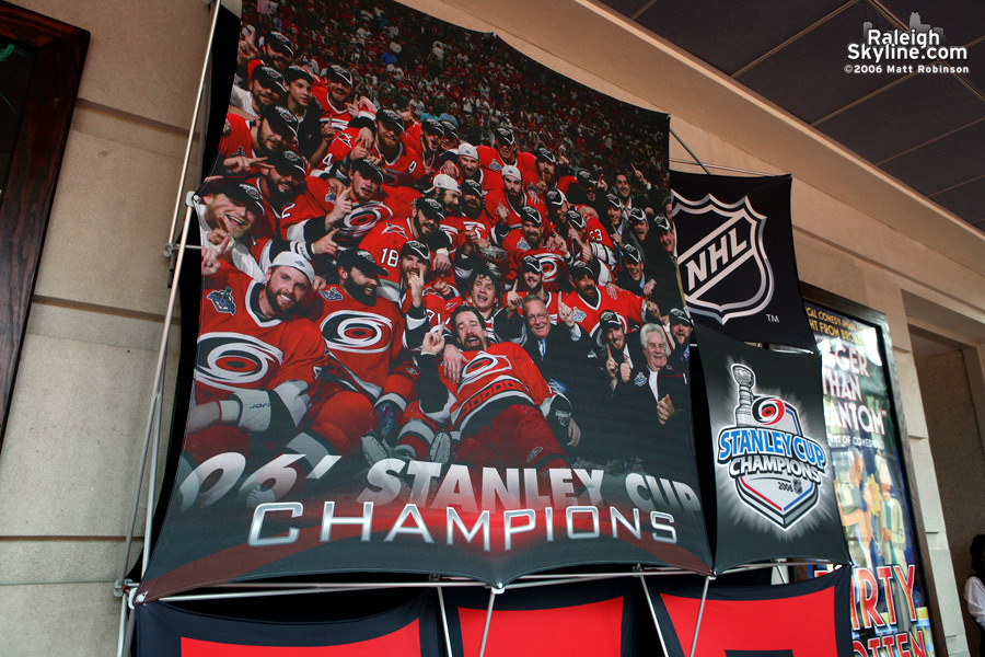 Another Canes Banner.