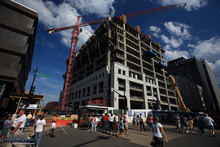RBC Plaza should be appear complete at this time next year.