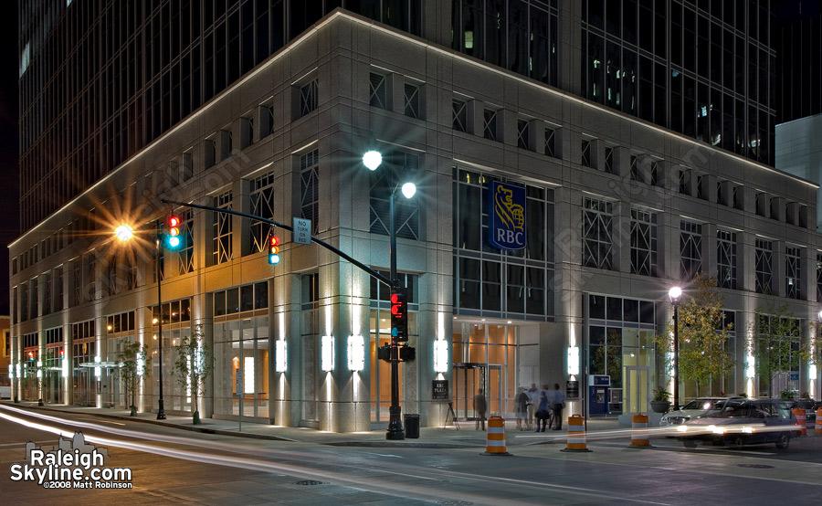 RBC Plaza sidewalks finally open.
