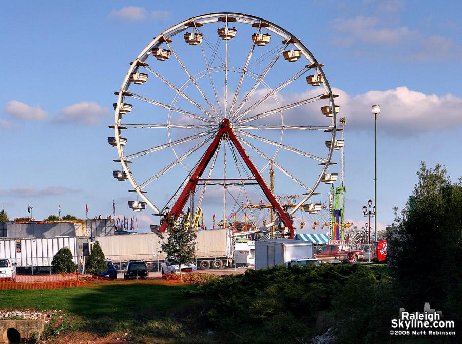 The Ferris Wheel.