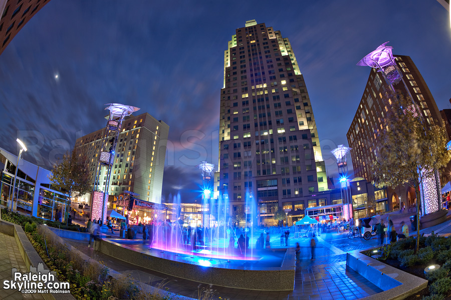 Raleigh\'s City Plazaraleigh city