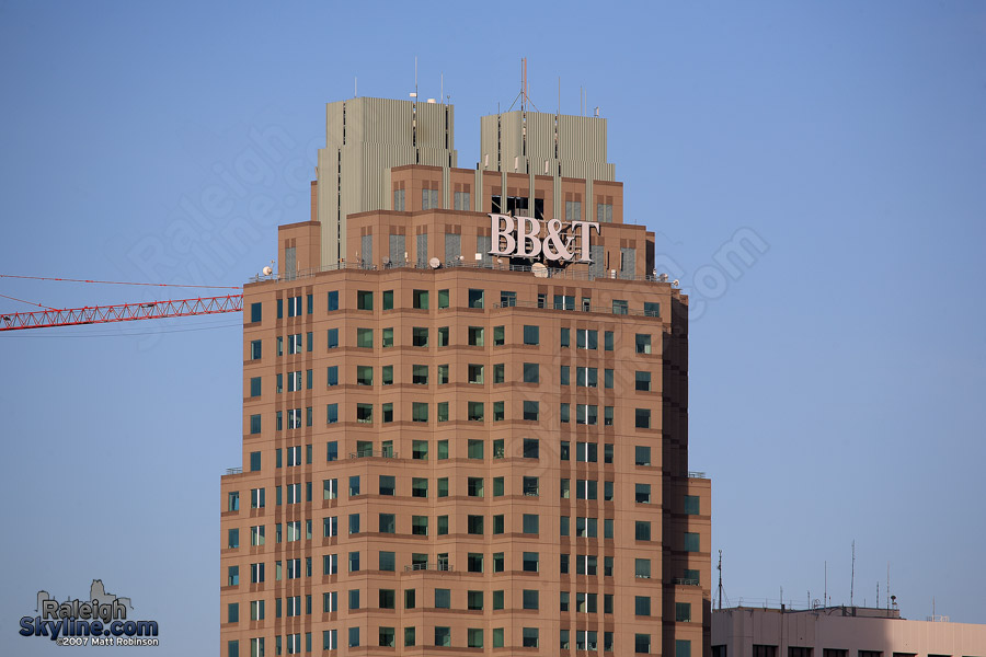 New BB&T sign
