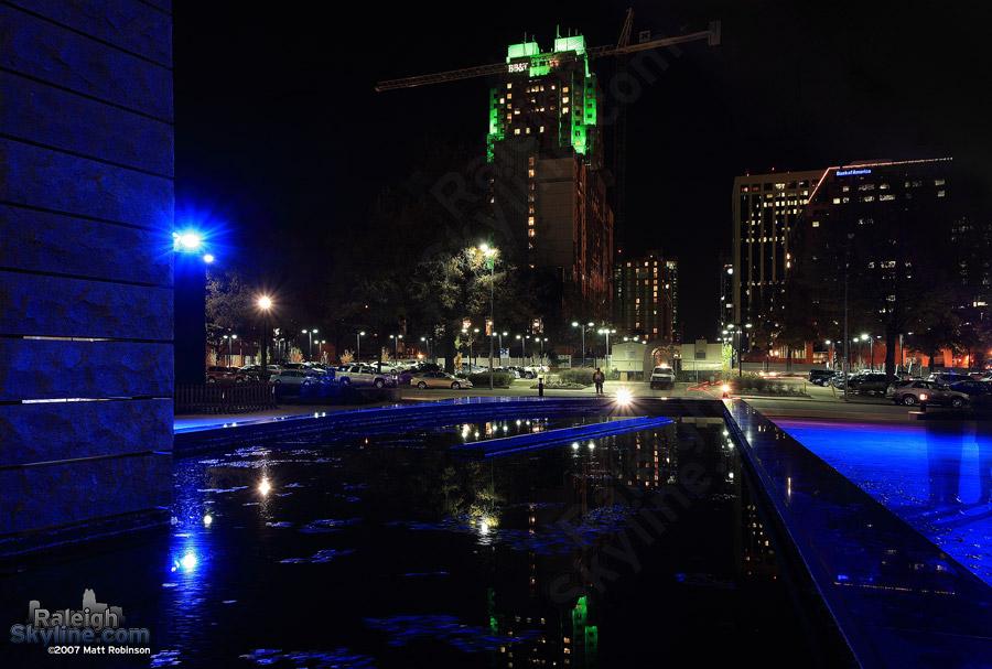 Downtown Raleigh, NC Holidays RaleighSkyline.com