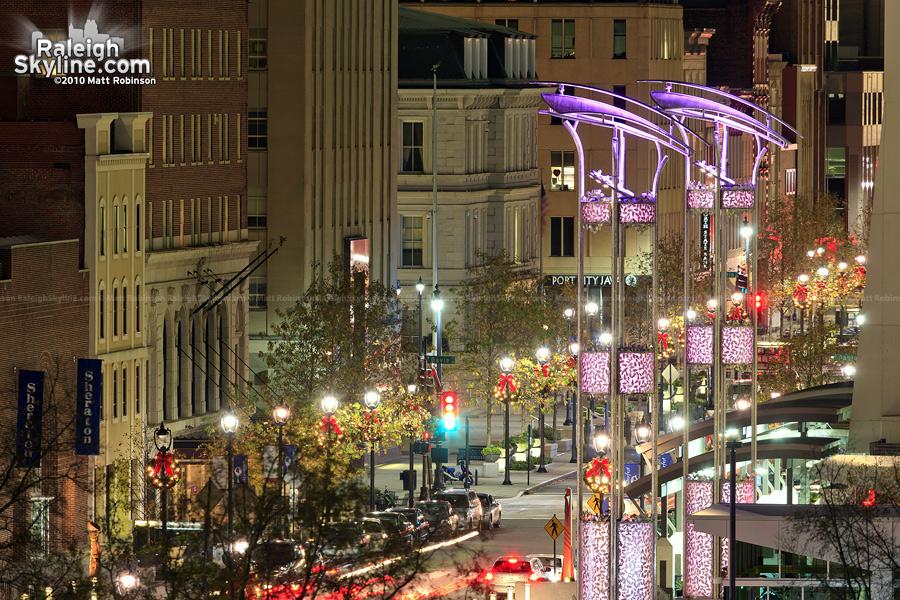 City Plaza viewed atop Fletcher Opera Theater