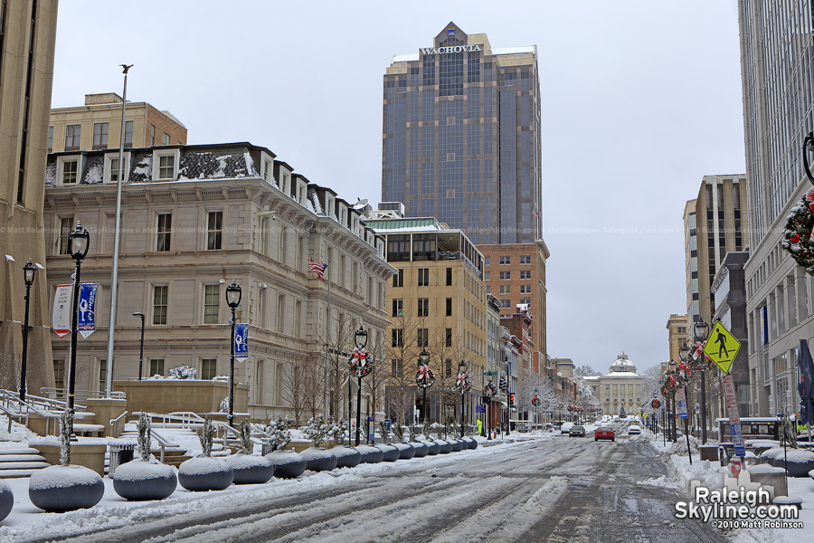 2010 Holiday Season on Fayetteville Street