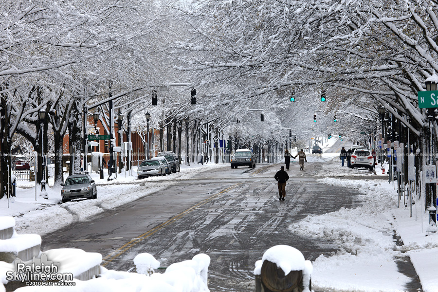 Winter Wonderland on Hillsborough Street