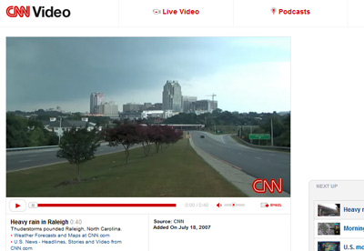 RaleighSkyline.com CNN Video