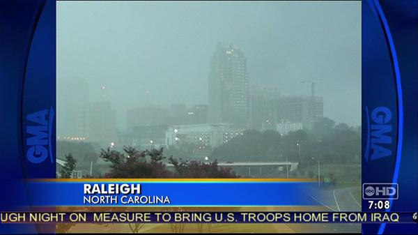 RaleighSkyline.com Good Morning America