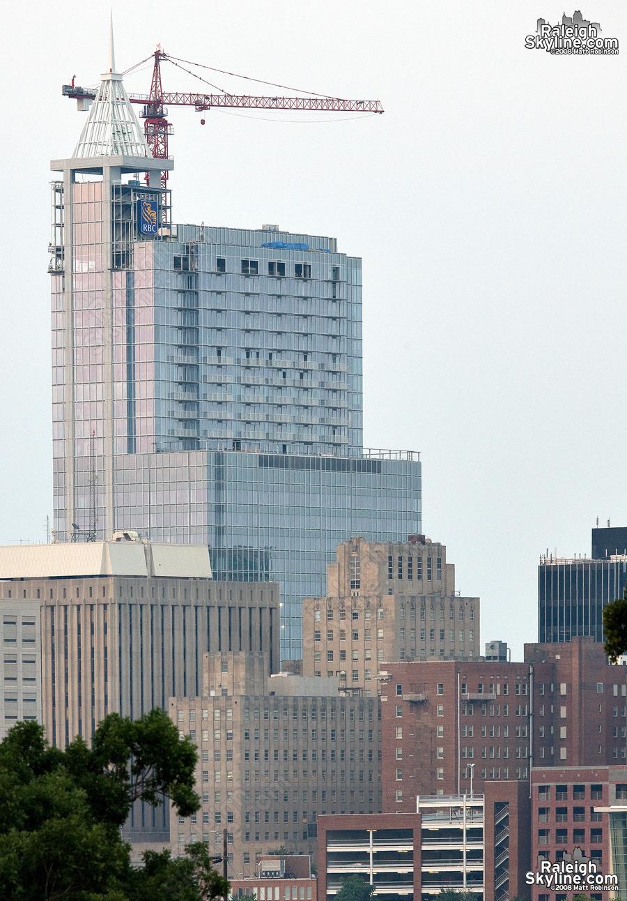 RBC Plaza crane