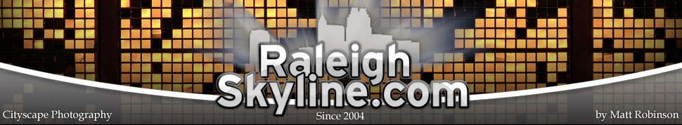 Header Image Raleigh Skyline