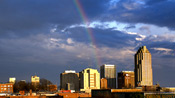 Rainbow over Raleigh