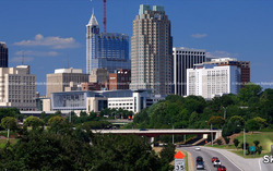 Raleigh Skyline Timelapse from 2003-2017