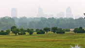 Smokey city of Raleigh