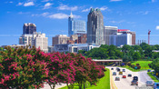 Raleigh Skyline late Summer 2014
