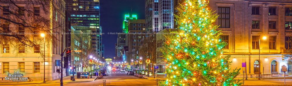 Raleigh at Christmas 2016